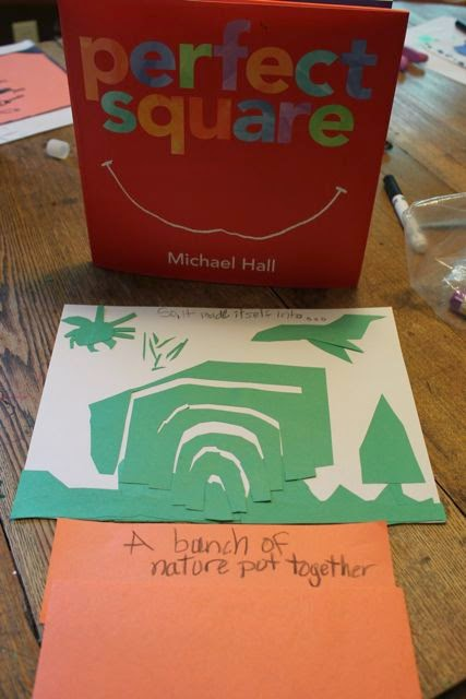 PERFECT SQUARE by Michael Hall activity via www.happybirthdayauthor.com