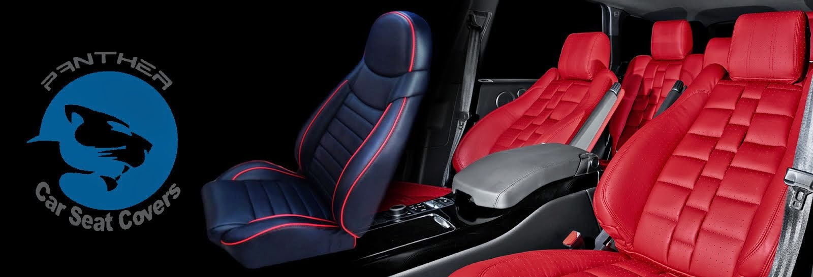 Car stickers design in coimbatore - Panther Car Seat Covers