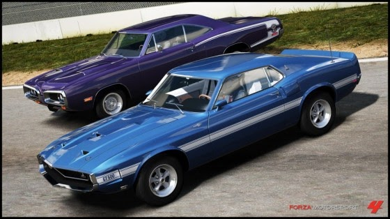 Forza Motorsport Muscle Cars In The Program Car Street Your