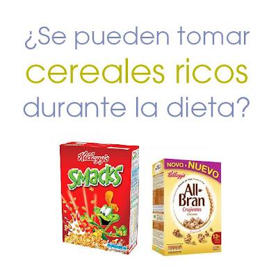 Cereales a dieta