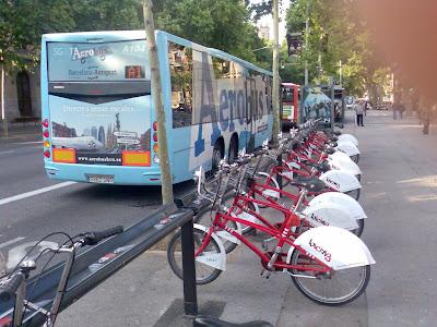 Aerobus in Barcelona