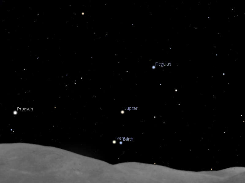 Astroblog: What was the Conjunction like from Jupiter (and ...
