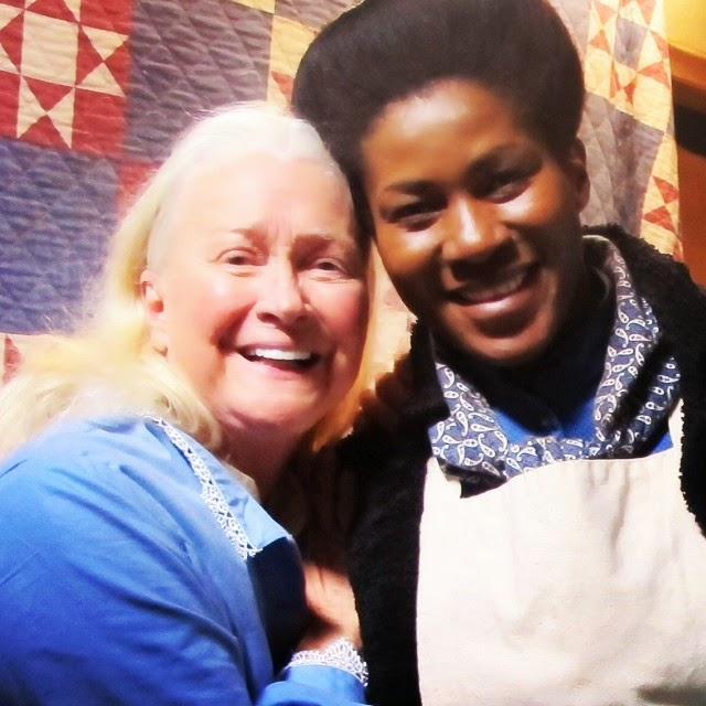 Stephanie Okereke and Diane Ladd