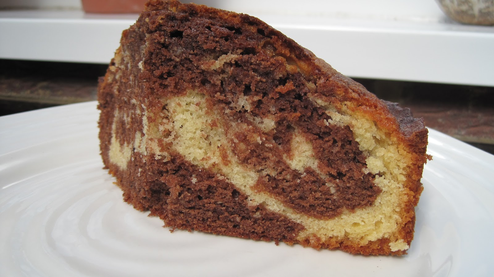 Diary of a keen baker: Chocolate Marble Cake