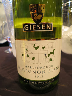 Wine Review of 2012 Giesen The Brothers Land Sauvignon Blanc from Marlborough, South Island, New Zealand