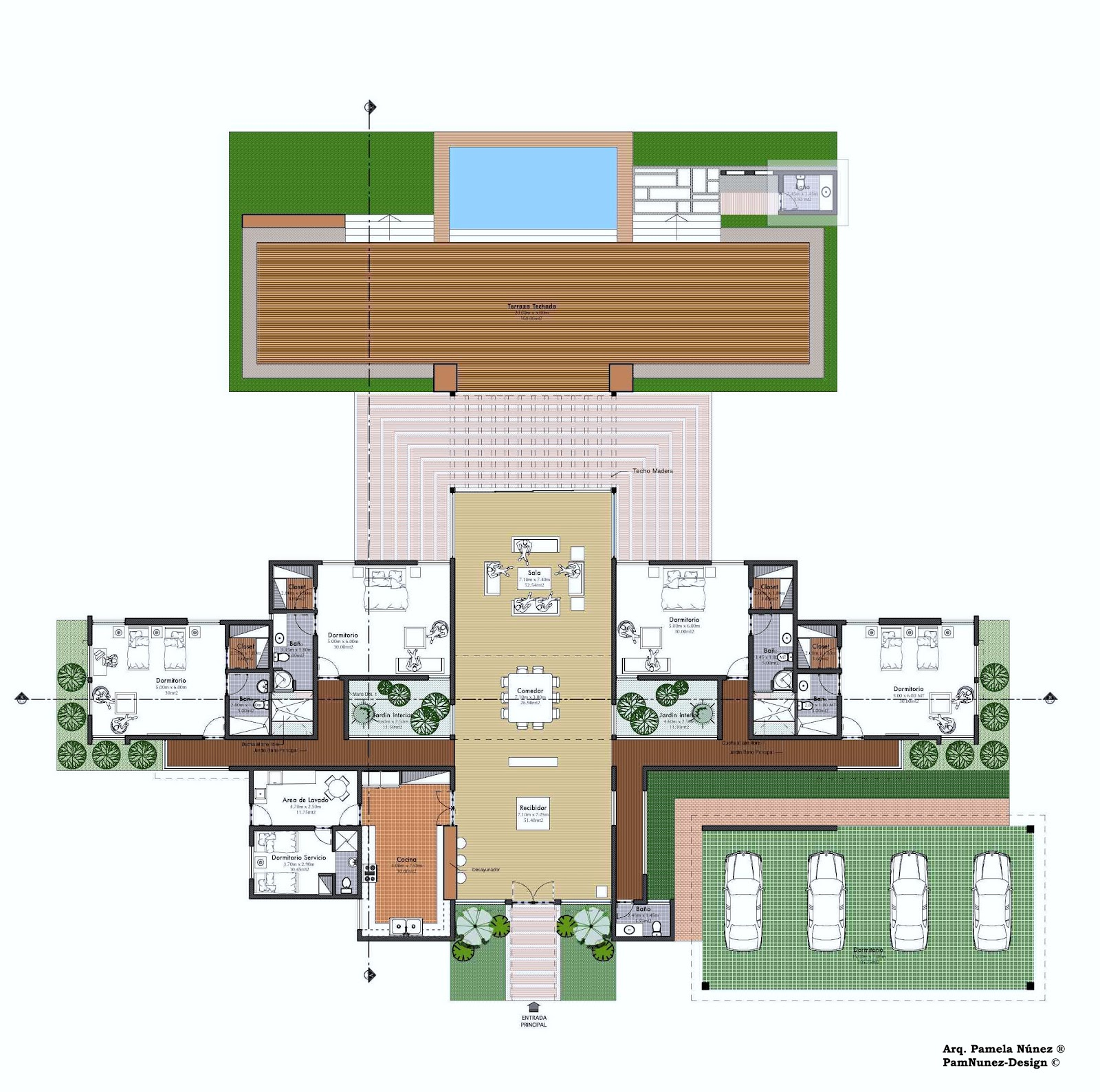 Pamnunez designs colaboraci n dise o casa tercer vivienda - Programa diseno vivienda ...