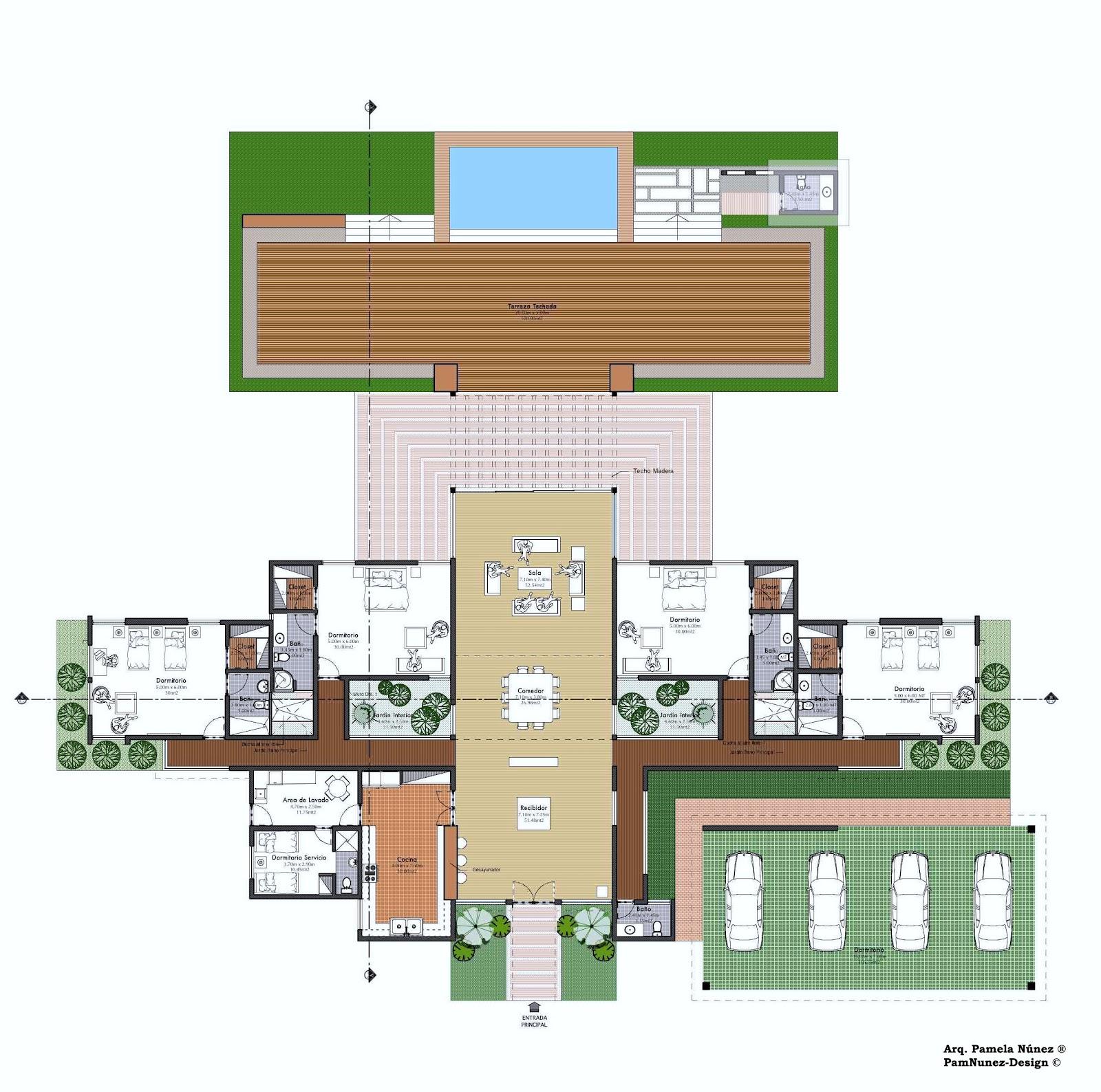 Pamnunez designs colaboraci n dise o casa tercer vivienda - Programa para planos de viviendas ...