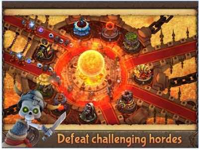 Game Strategi Offline Terbaik Evil Defenders APK Android