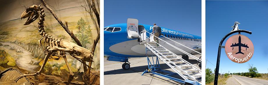 Ynas Reise Blog, Argentinien, Reisetagebuch, Trelew, Museum und Flughafen
