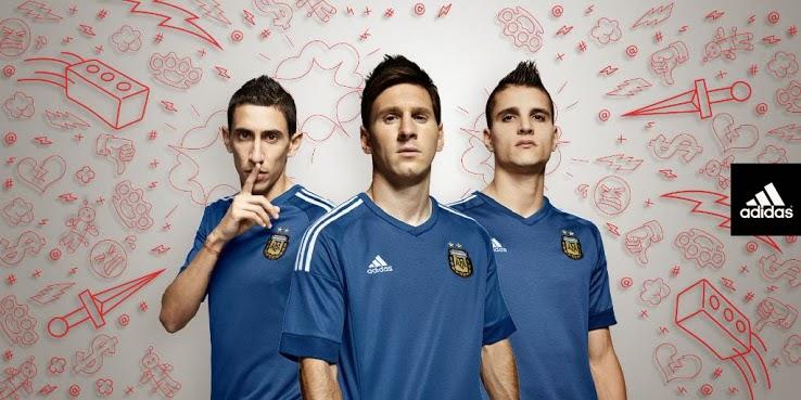 jual jersey argentina away terbaru musim depan 2015