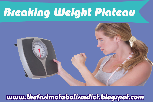 how to break a diet plateau