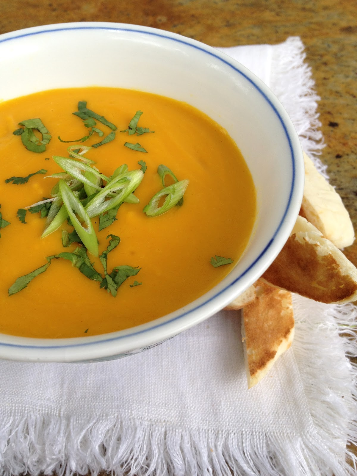 Jennuine by Rook No. 17*: Coconut-Curry Butternut Squash Soup