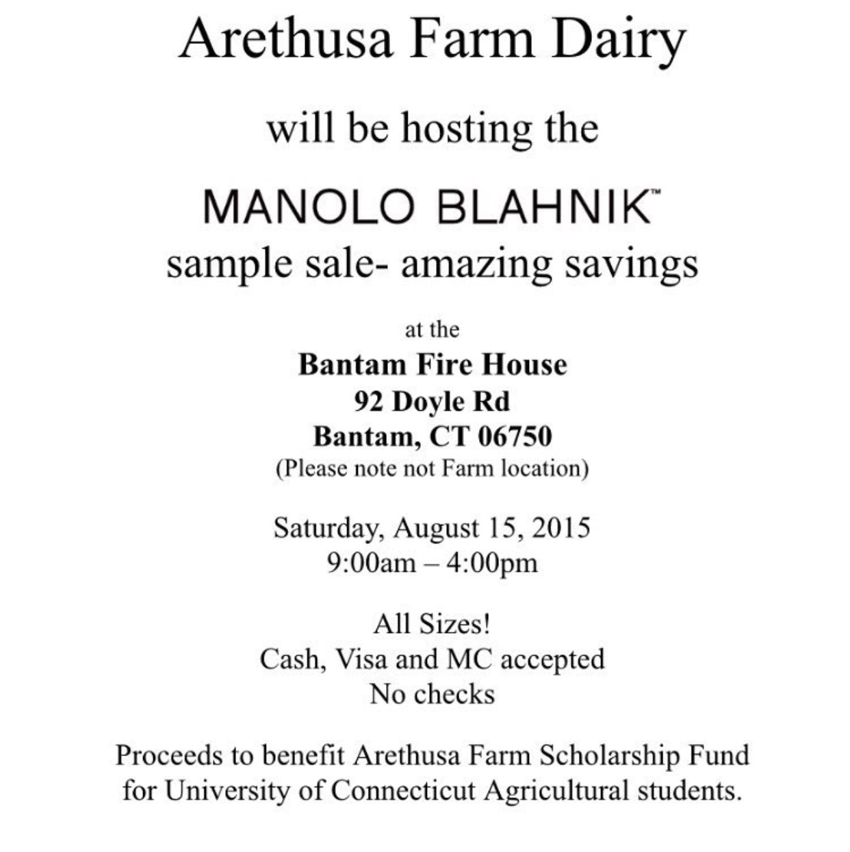 Manolo Blahnik Sample Sale in August?!!! | Practically Haute