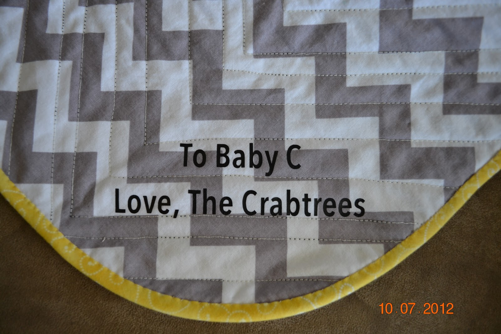 how to get old yellowed quilt back to white