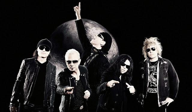 Scorpions pasan por Madrid en 2014