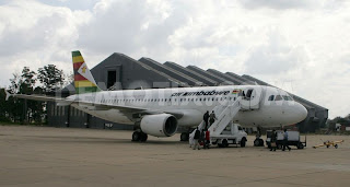 Air Zimbabwe A320 Z-WPM in Harare