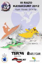 III Open Kayaksurf e Waveski Razo 2012