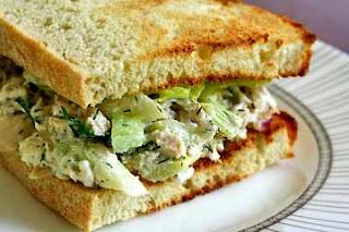 Sandwic Tuna untuk Bersahur