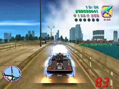 gta vice city: back to the future hill valley pc game