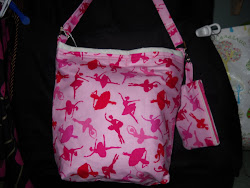 Dancer's Tote with Coin Purse