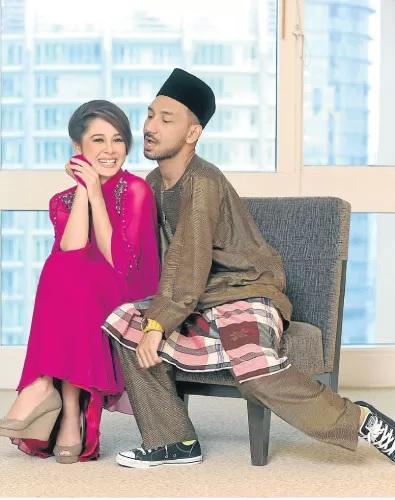 Kekasih Zizan Razak Emma Maembong