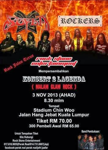 Konsert 2 Legenda (Malam Glam Rock)