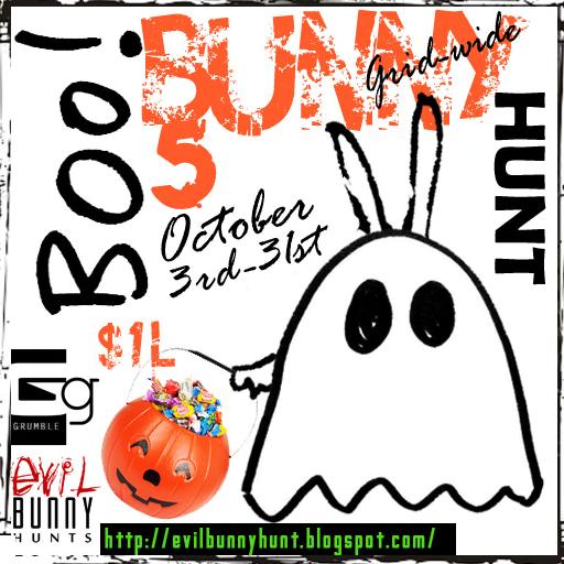 Evil Bunny Boo! Bunny Hunt
