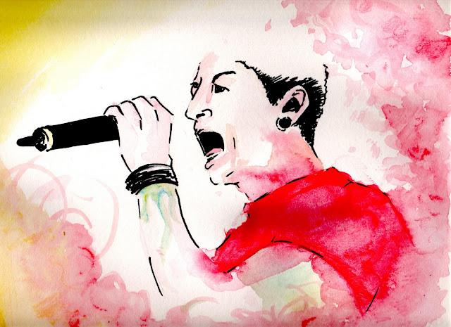 Illustration: Chester Bennington ( Linkin Park)