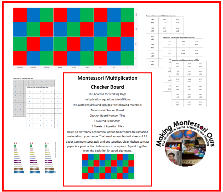It is a photo of Versatile Printable Checkers Board