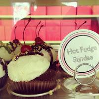 Hot Fudge Sundae Cupcakes - National Hot Fudge Sundae Day