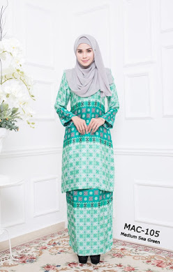 MYESHA AMBERLY COLLECTION - Medium Sea Green