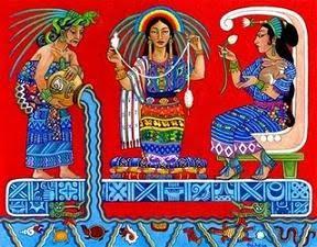 Diosa Maya de la Medicina