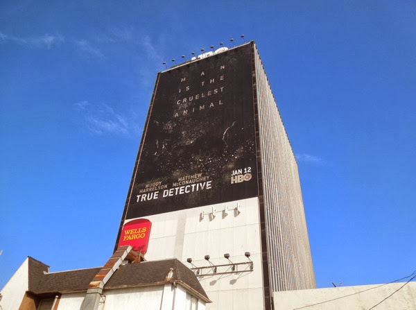 Giant True Detective Man is the cruelest animal billboard