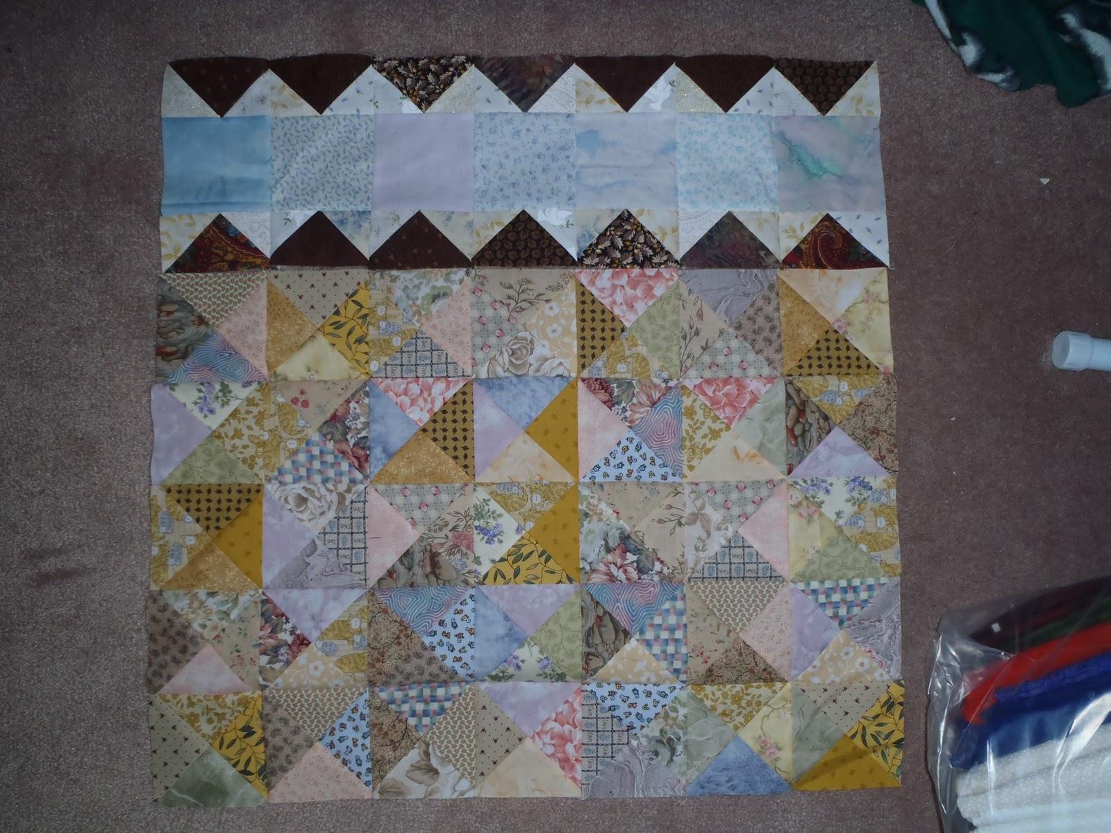 Krista Quilts Design Wall Monday Jan 16