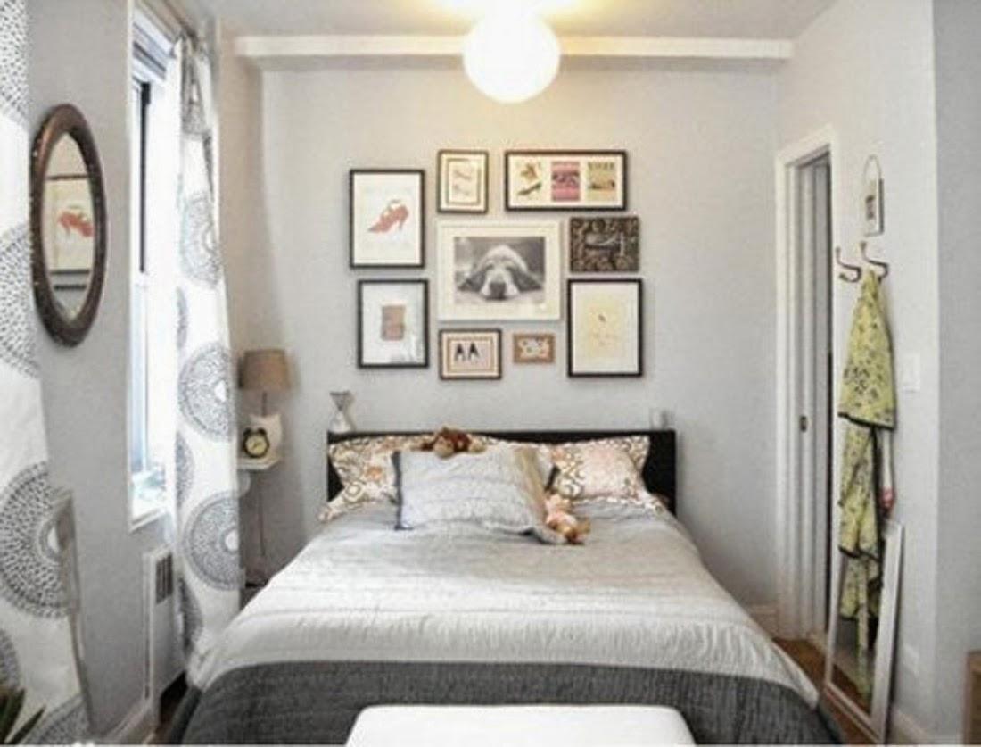 rumah minimalis modern menata kamar tidur yang sempit