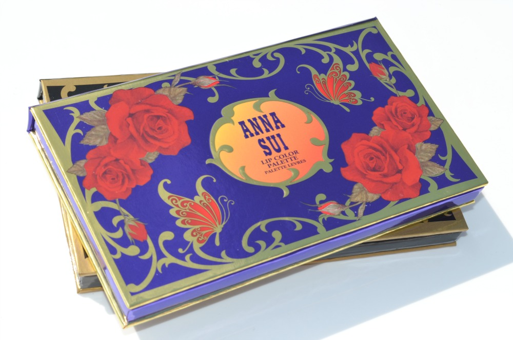 Anna Sui Eye Color and Lip Color Palettes | Review and Swatches