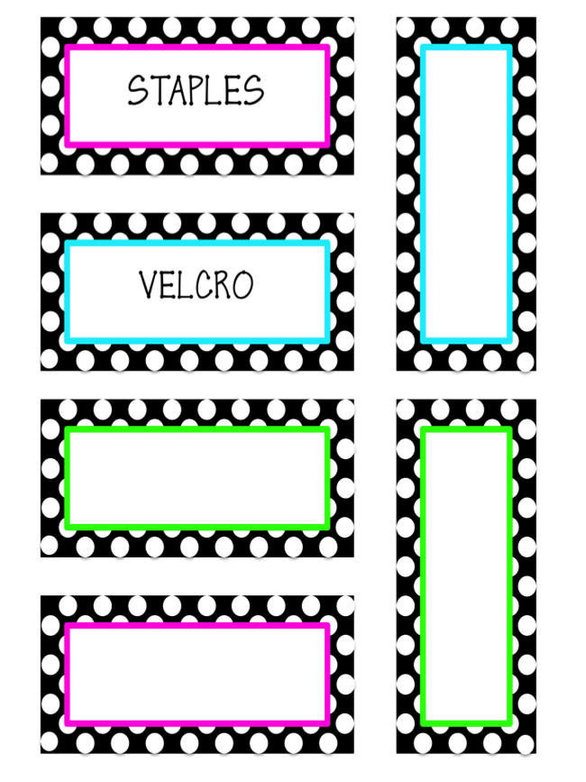 Classroom Decor Templates ~ Classroom decor more teacher toolbox labels