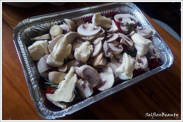 dania na griila zapiekanka wegetariańska