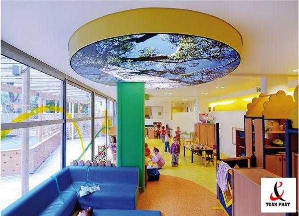 vật liệu thiết kế trần nhà 6