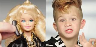«Προοδευτισμός» : Έβαλαν αγοράκι στη νέα διαφήμιση της Barbie