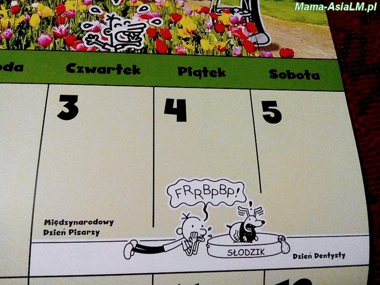 Nieziemski Kalendarz Cwaniaczka Dzień Pisarzy i Dzień Dentysty