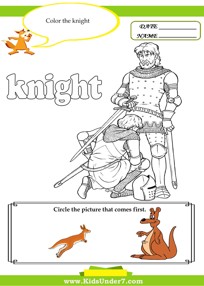 K 9 coloring pages - Letter K Worksheets