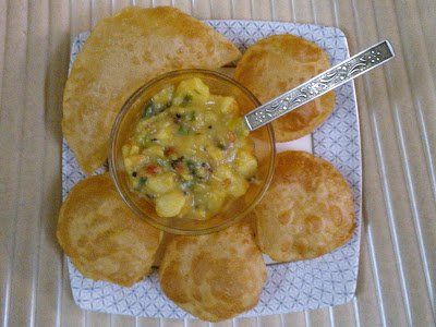Poori Masala