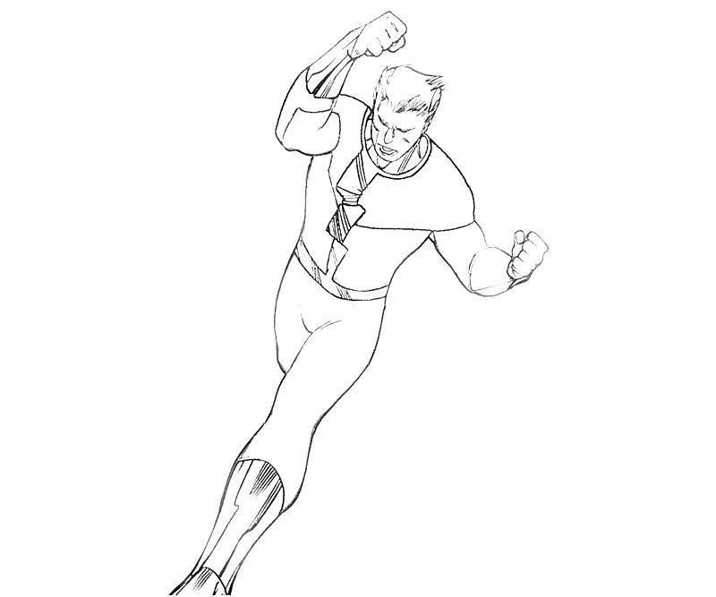 Quicksilver Coloring Pages : X men quicksilver character yumiko fujiwara