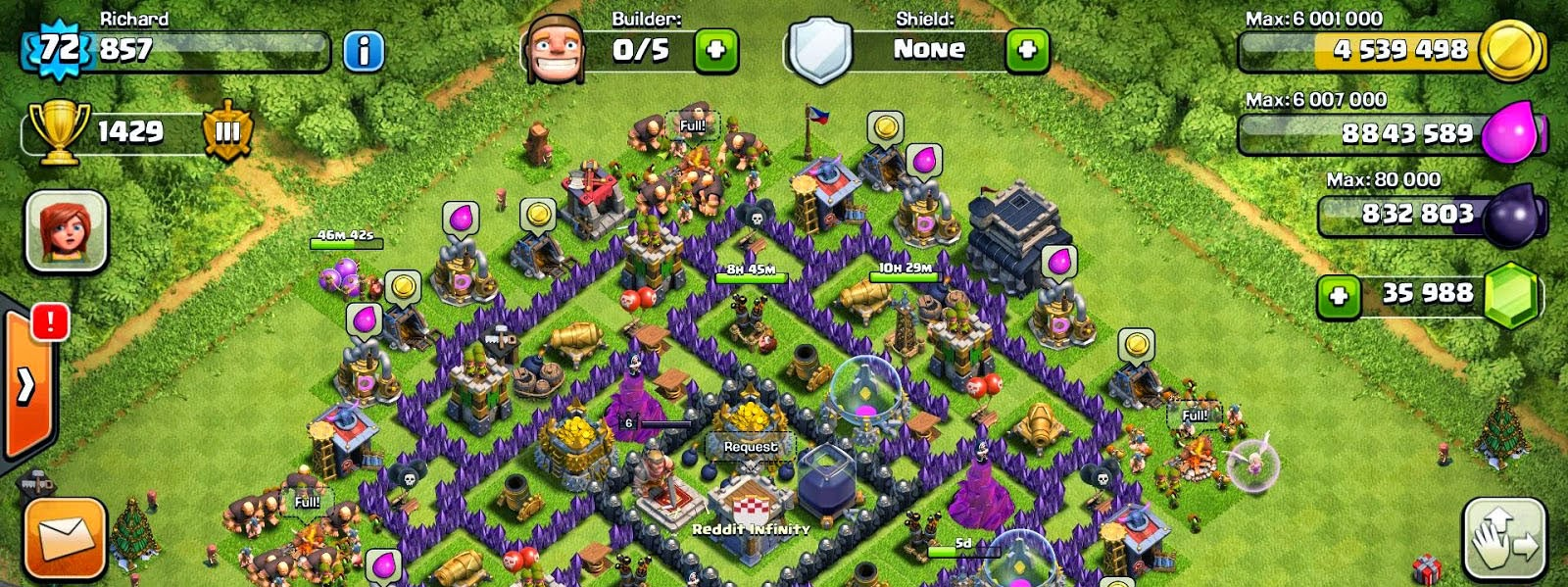 clash of clans mod apk 2017 no root