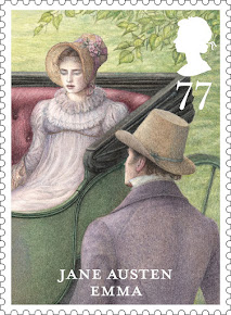 ROYAL MAIL JANE AUSTEN STAMPS