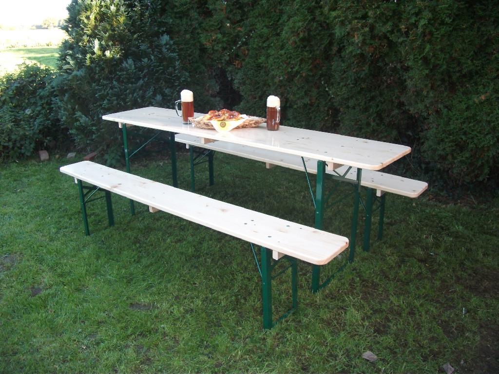 German Beer Garden Table And Bench Set