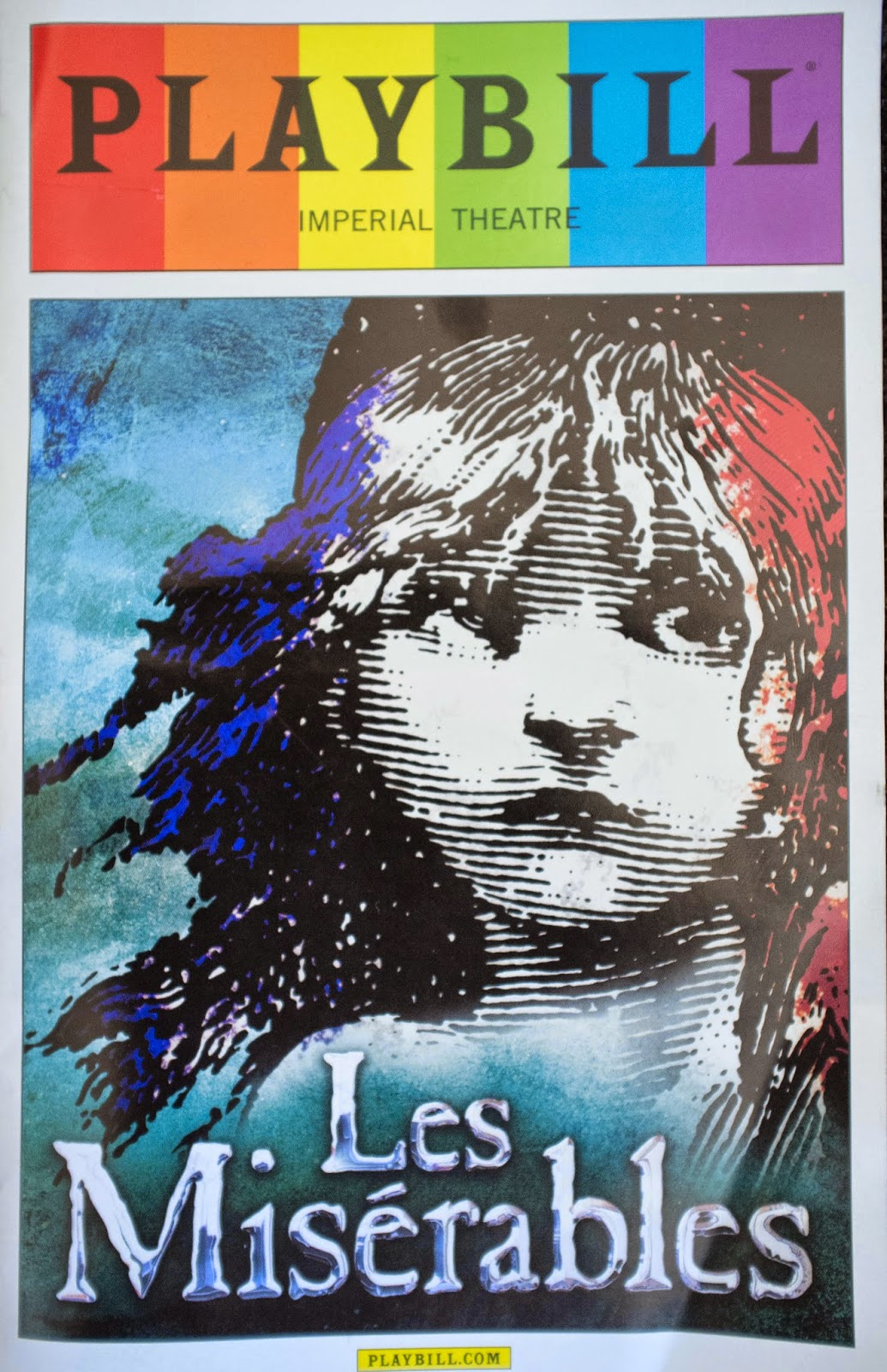 Les Miserables Broadway Playbill | www.imgkid.com - The ...