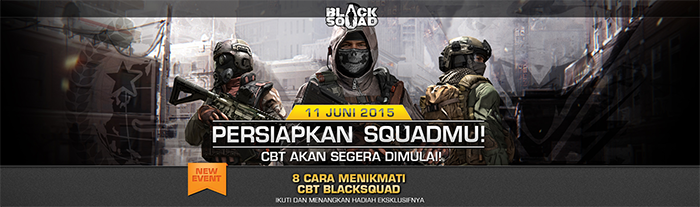 Delapan Event Besar Sambut Black Squad Online Indonesia