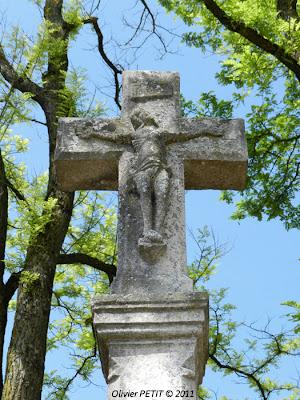 VANNES-LE-CHATEL (54) - Croix de mission 1808